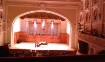 concert in Moscow P. I. Tchaikovsky Conservatory