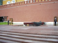 guards at the tomb of the unknown soldier - changing at every full hour