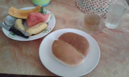 huge breakfast every day