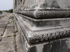 detail at the Temple of Apollo