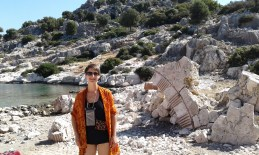 ruins on Kekova island