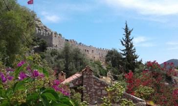 crusader fortress at Kaleköy