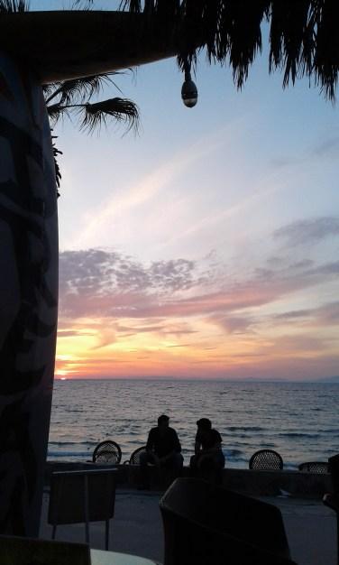sunset at Ladies beach (kadınlar plajı), Kuşadası