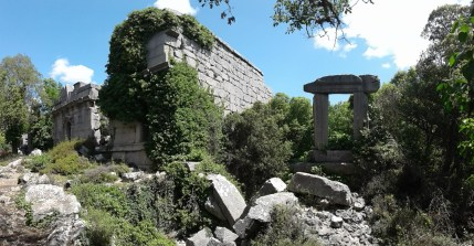 pretty well preserved building in Termessos
