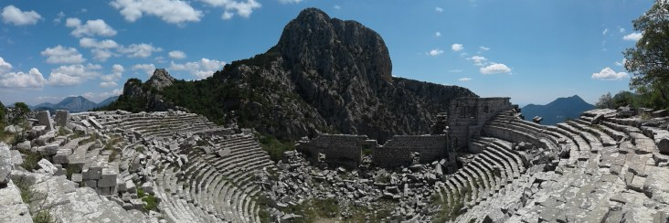 theater in Termessos - pretty well preserved despite some earthquakes