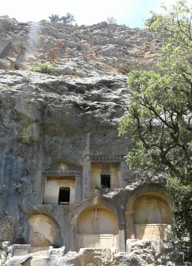 tombs in Termessos
