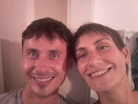Old friends meet again in Lübeck :)