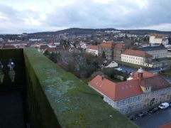 Bayreuth seen from the belltower of