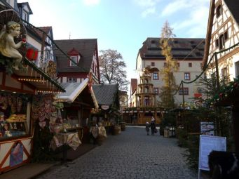 Christmas market in Forchheim