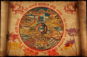 samsara wheel of rebirth and death in various realms by Hanciong on Flickr com