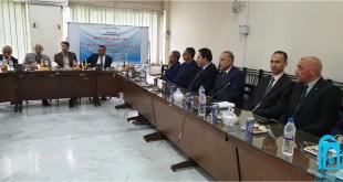 وفد من كلية التربية الأساسية بجامعة الكوفة يشارك في مؤتمر رؤساء أقسام اللغة العربية في جامعة أصفهان