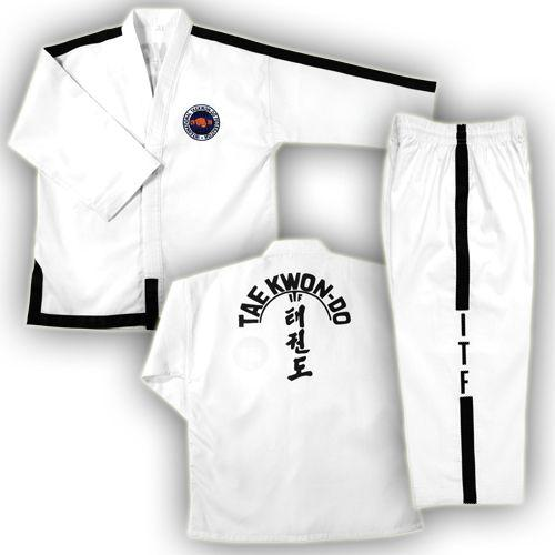 ITF Black Belt Uniform
