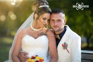 Hochzeit-Paar-Braut-Bräutigam-Brautstrauß-Sonne-Stimmung-Frisur-Brautkleid-Hochzeitskleid-Anzug-Baer.Photos-Fotograf-Holger-Bär
