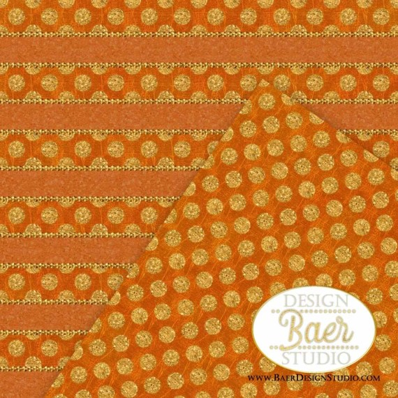 Copper and Gold Digital Paper