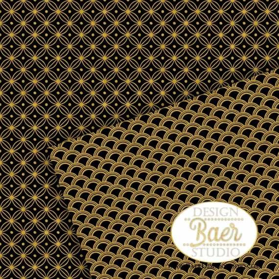 New Year Eve Digital Paper