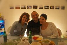 Janine, Jens und Pat