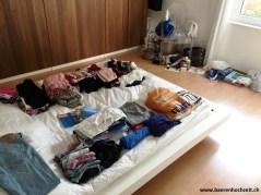 Das ist nur ein kleiner Teil des Gepäcks :-)