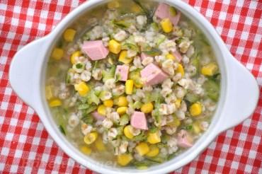 Zucchini Dinkel Suppe
