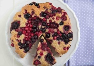 Mandel Beerenkuchen