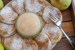 Vanille Mandel Pancakes