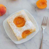 Flaumiger Marillen Buttermilch Kuchen