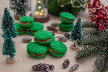 Grüne Moos Kekse