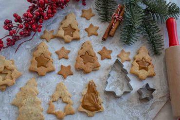 Mandel Karamell Kekse