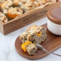 Marillen Mohn Kuchen mit Streusel