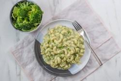 Pasta mit Brokkoli Ricotta Sauce