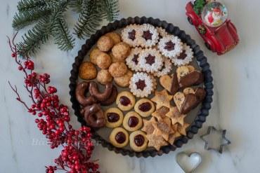 1 Teig 6 unterschiedliche Weihnachtskekse