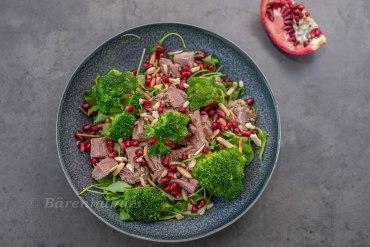 Brokkoli Rindfleisch Salat