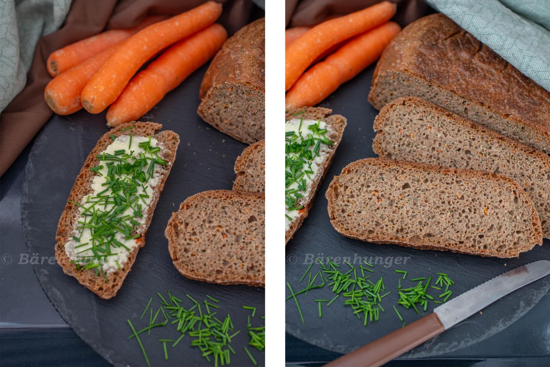 Karotten no knead bread