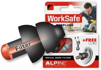 Alpine WorkSafe with earplug
