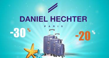 -30% sur la collection de valises Daniel Hechter