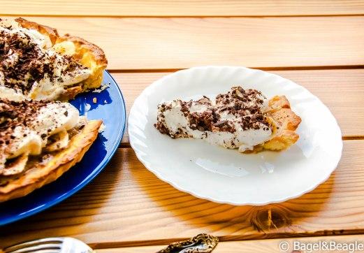 Бананово-карамельный пирог от Джейми Оливера