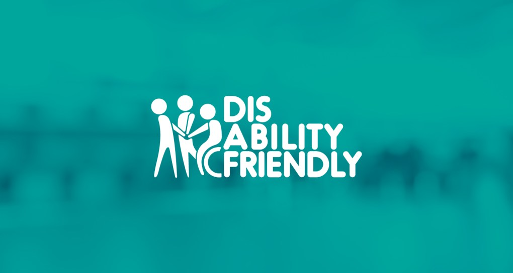 disability friendly logo