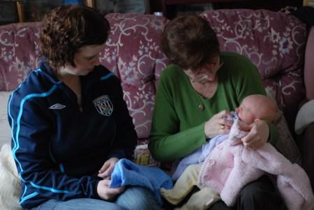 Nanny Fran And Auntie Liz