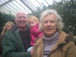 Nanny, Granddad (and who's at the back?)