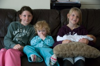 Four of the cousins