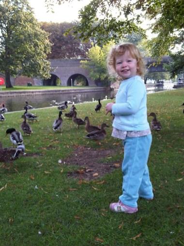 Ducks! Bread!