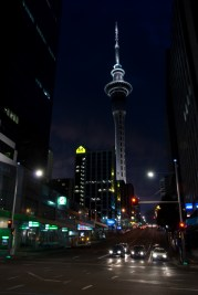 Aukland at night