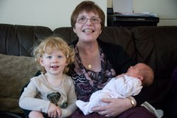 Nanny Fran and her Granddaughters