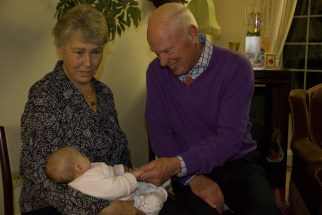 Great Uncle David and Great Auntie Sally