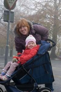 Mommy and Éowyn in Windsor