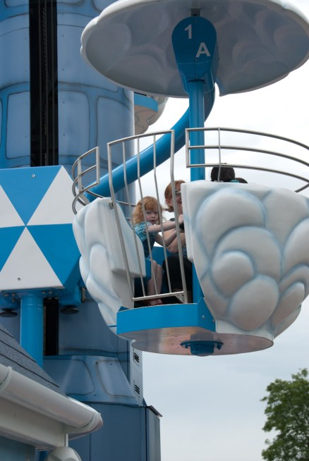 On the Windy castle ride