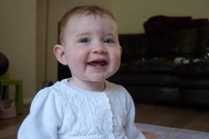 Cheeky laugh!