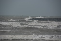 Sea's a bit rough