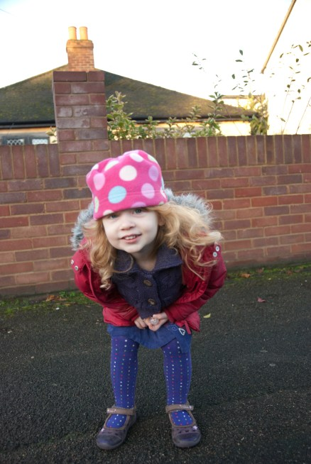 On my way to school!