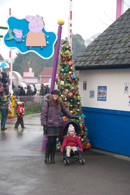 Christmas at Peppa Pig World