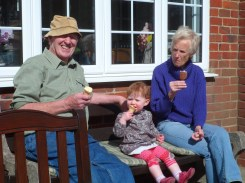 Chilling with the Grandparents!
